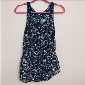 50% off bundles! Lauren Conrad floral blouse